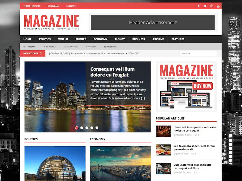 Melhores temas WordPress otimizados para SEO - MH Magazine