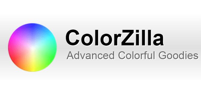 Ferramentas Online para Designers - Colorzilla