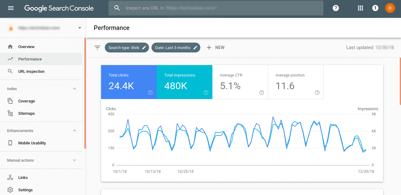 Configure seu site no Google Search Console